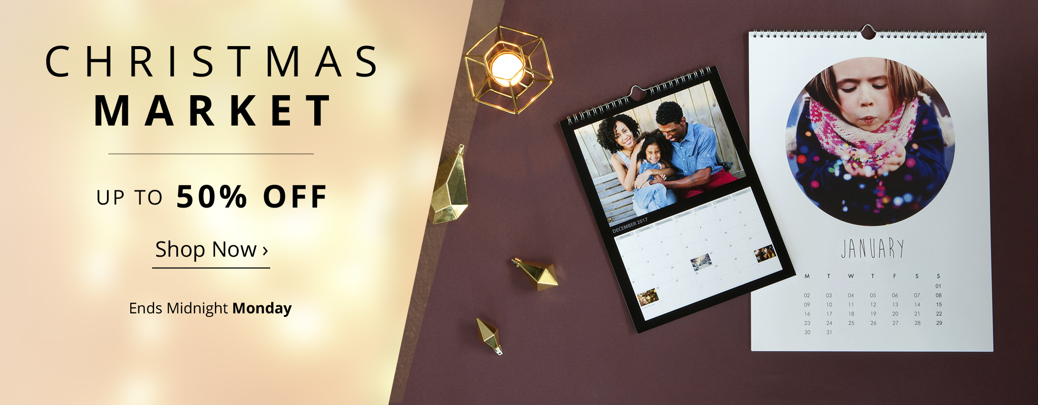 Christmas Market up to 50% off - desktop carousel 1