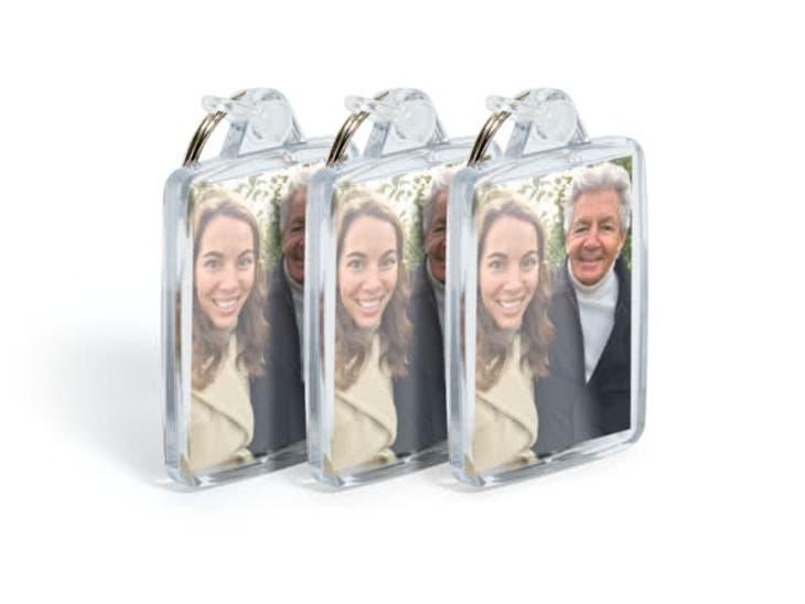 Cadeaux de Noël pour Mamie - Porte-clés Photo - Un cadeau toutes les heures