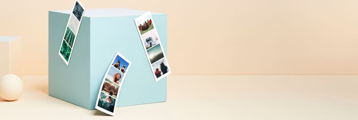 Magnetic Photo Booth Strips