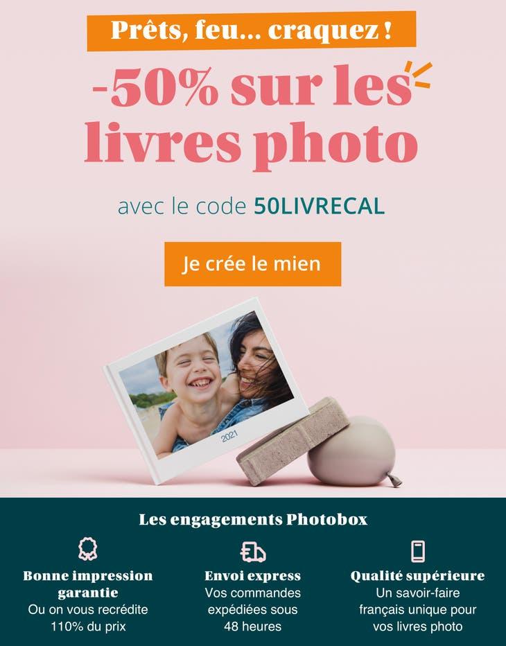 -50% sur les livres photos