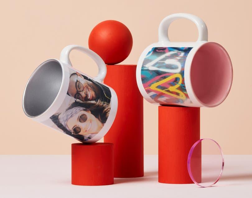 Mug couleur personnalisé