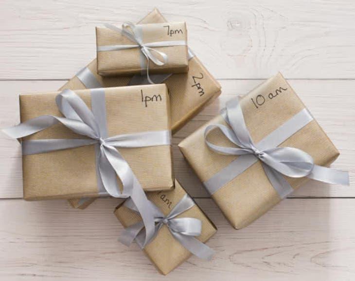 Des cadeaux de Noël pour votre soeur - Un cadeau par heure