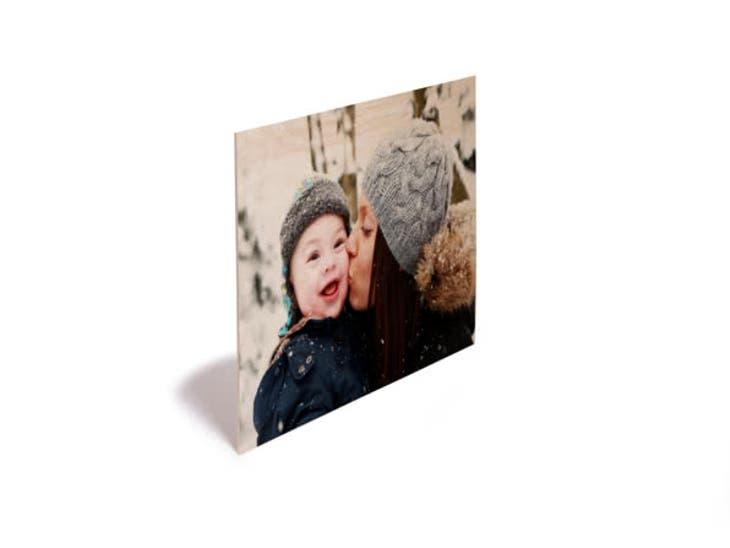 Cadeau de Noël pour votre Maman - Photo sur Bois - Le cœur sur les souliers