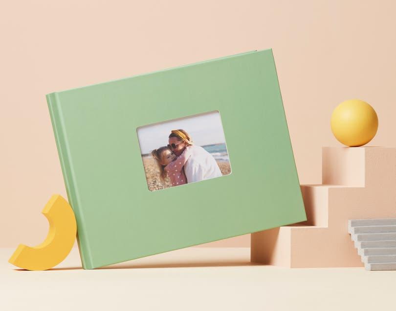 Fotolibro classico con copertina rigida standard A4