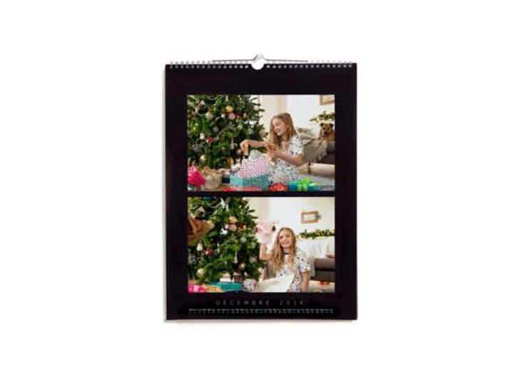 Cadeau de Noël pour votre Maman - Calendrier Photo Luxe  - À la lettre
