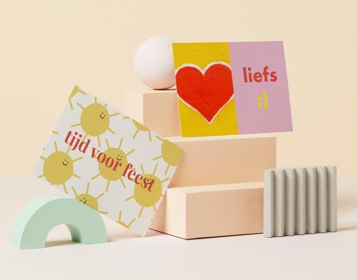 Rectangle Flat Cards
