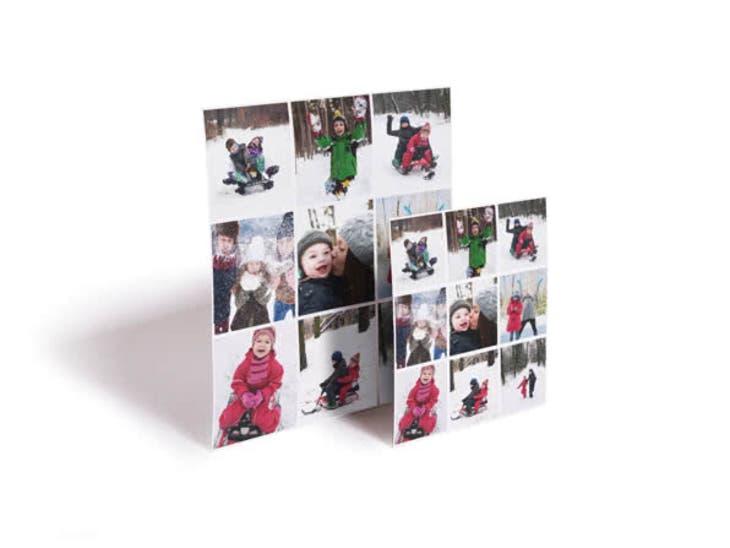 Cadeaux de Noël pour Mamie - Magnets Carrés - Un cadeau toutes les heures