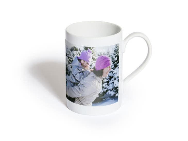 Cadeaux de Noël pour Mamie - Mug Porcelaine Simple - Le cœur sur les souliers