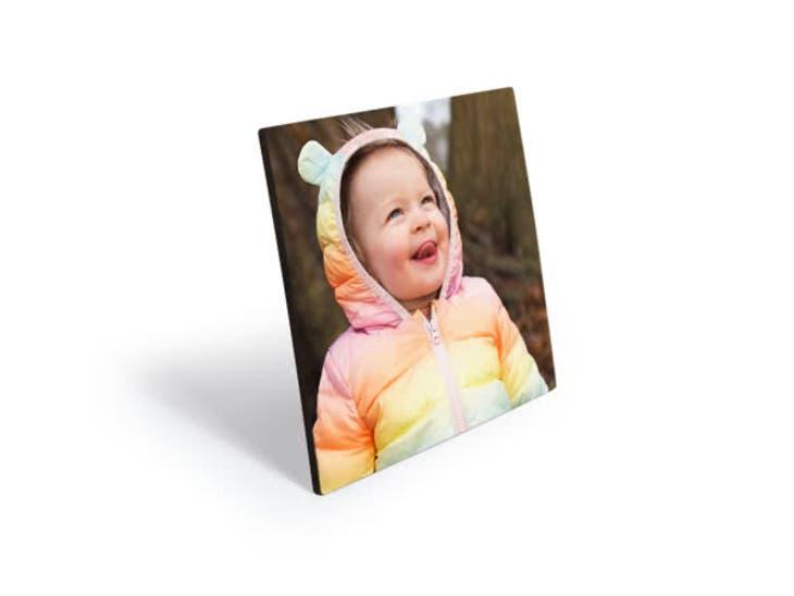 Cadeaux de Noël pour votre Papa - Plaques Photo Bois - Tête-à-tête