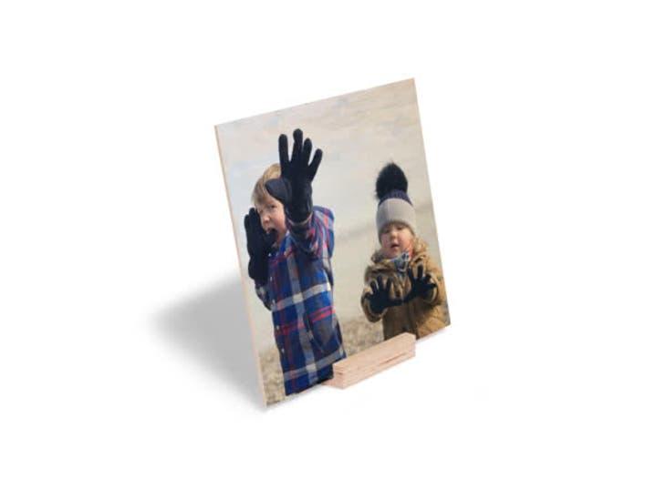 Cadeaux de Noël pour votre chéri - Impression sur Bois - Portraits de profil