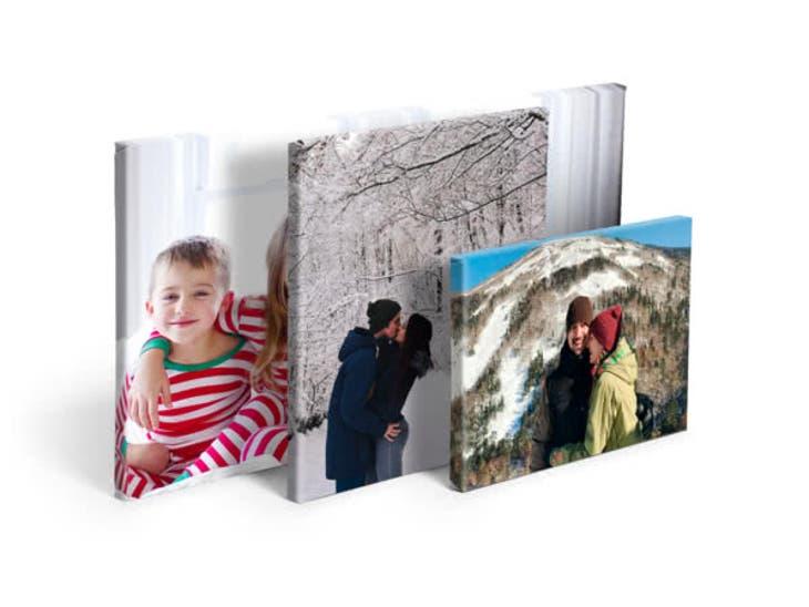 Cadeau de Noël pour votre Maman - Toile Photo Simple - Tête-à-Tête