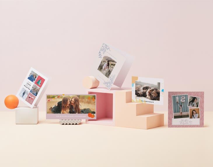 Fotokort med et personligt strejf