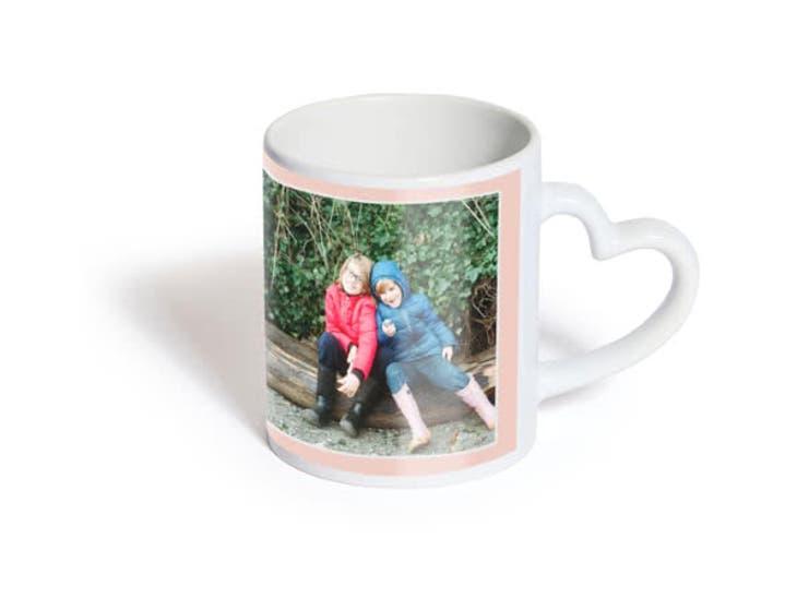 Cadeaux de Noël pour Mamie - Mug Coeur - Change de tête