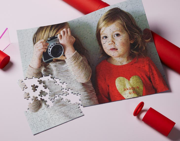 Personalised Photo Block