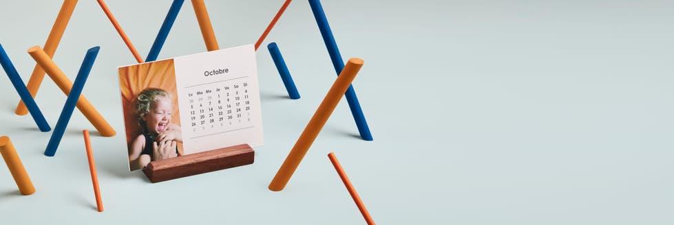 Landscape Easel Calendar