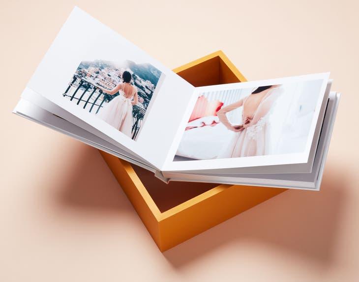 A4 & A3 Lay Flat Silver Halide Photo Book