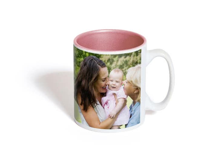 Cadeau de Noël pour votre Maman - Mug Personnalisé Couleur - Un cadeau toutes les heures