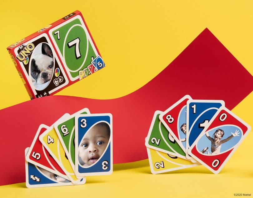 Jeu de cartes MyUNO® personnalisé