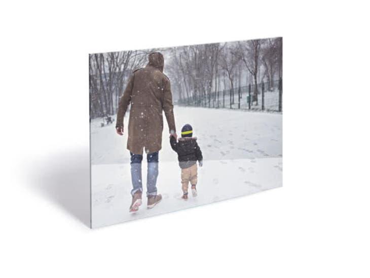 Cadeaux de Noël pour Mamie - Tableau Photo Plexi - Portraits de profil