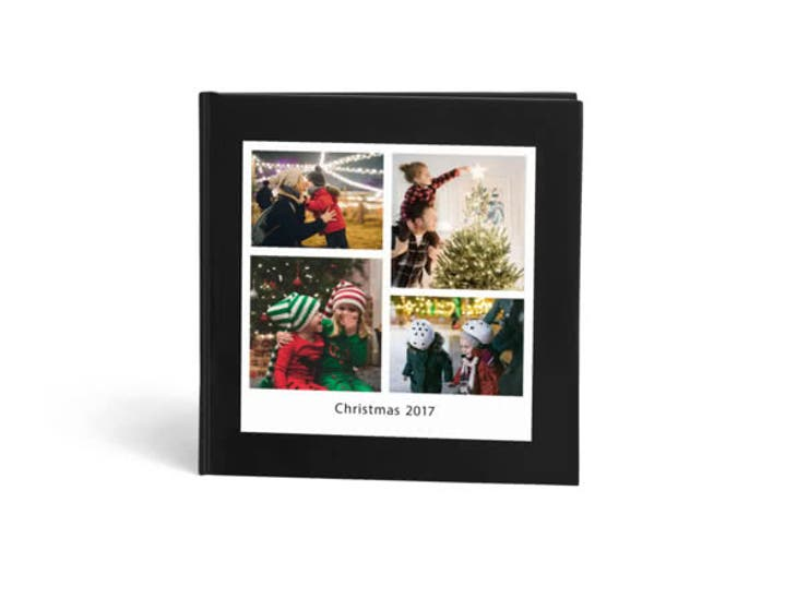 Christmas Gift Ideas for Sister - square express photo book - Reasons I Love You