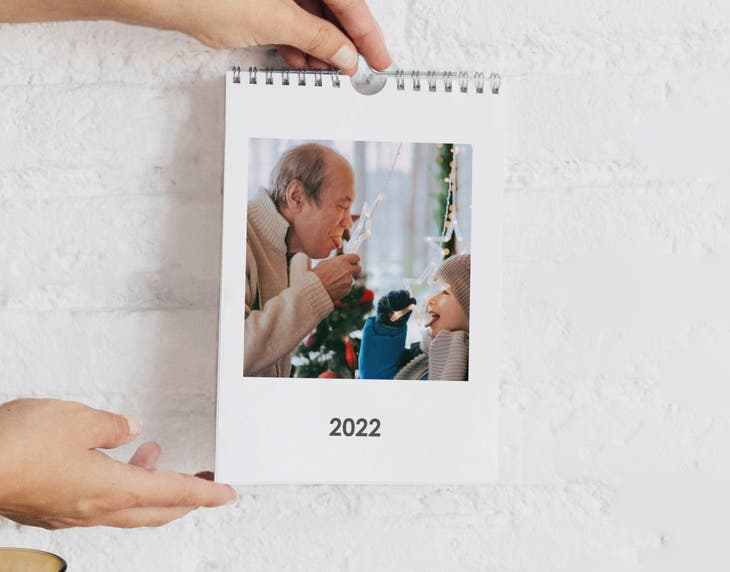 Calendario A5