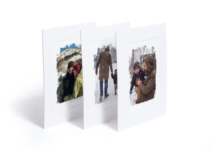 Des cadeaux de Noël pour votre soeur - Affiche Photo d'art - Le cœur sur les souliers