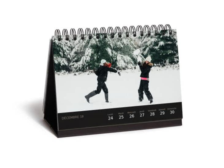 Cadeaux de Noël pour Mamie - Calendrier de Bureau Luxe - Les petites boîtes