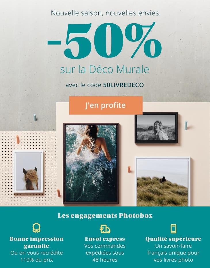 -50% sur la Déco Murale