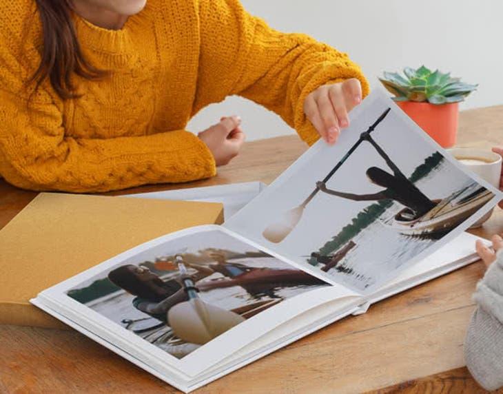 A4 Pro Lay Flat Book
