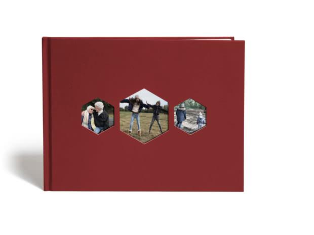 A4 Hexagon Photo Book