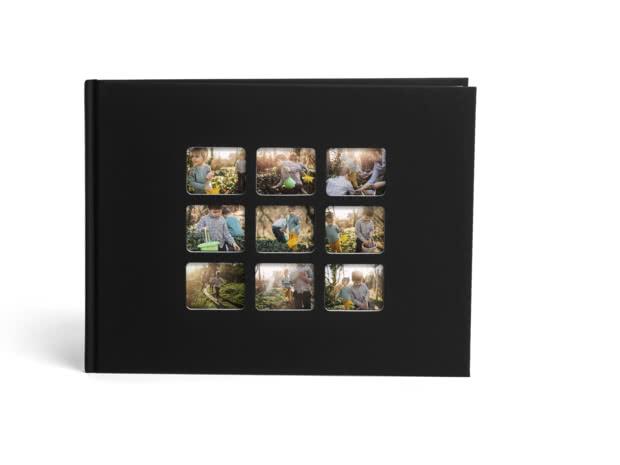 Livre photo rigide neuf fenêtres format A4