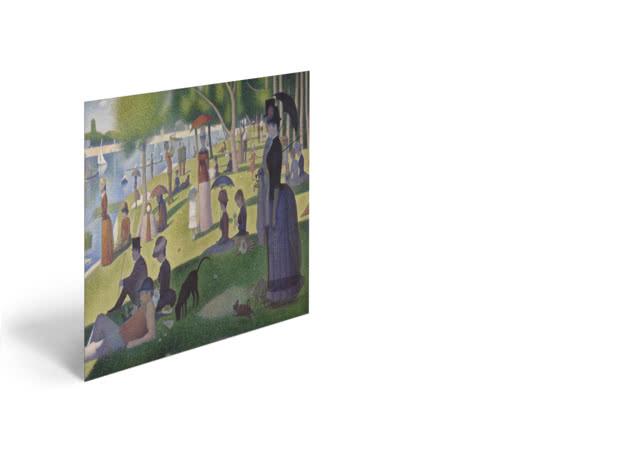 A Sunday on La Grande Jatte by Georges Seurat - Poster
