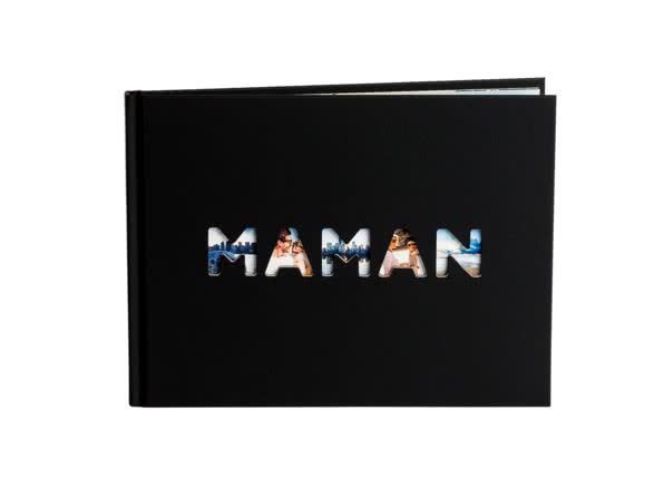 Cadeau de Noël pour votre Maman - Livre Photo Maman - Ce que j'aime chez toi