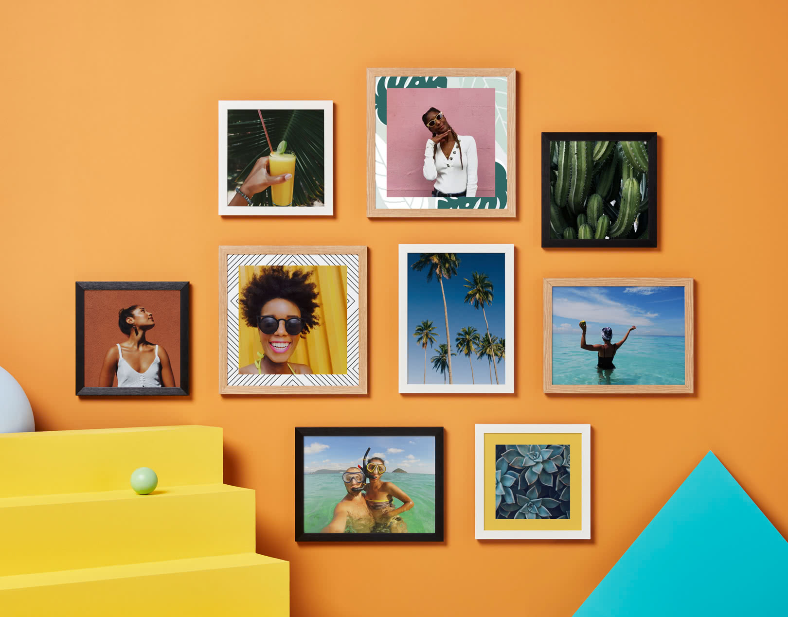 Photo Tiles - Hexagonal