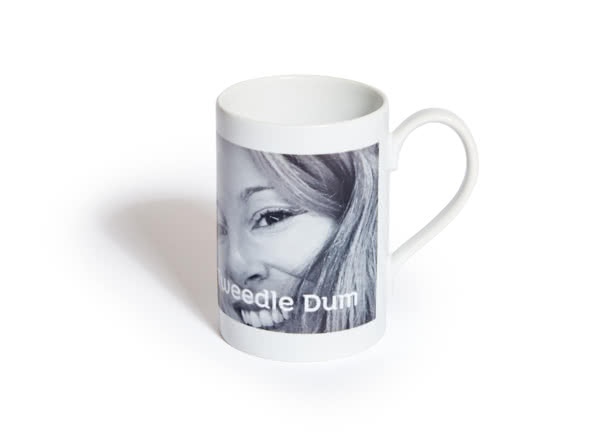Mug en porcelaine personnalisé