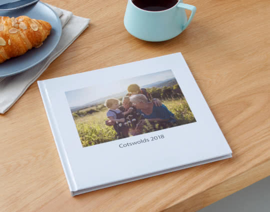 Premium Hardcover Square Lay Flat Photo Books