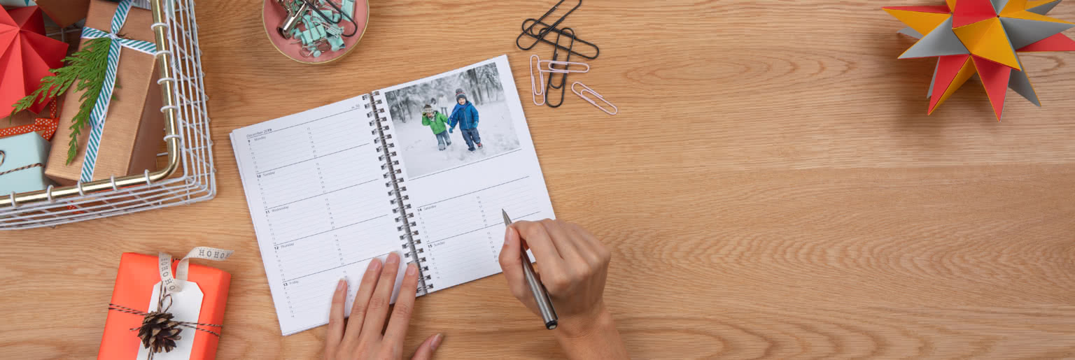 Standard & Large Photo diaries