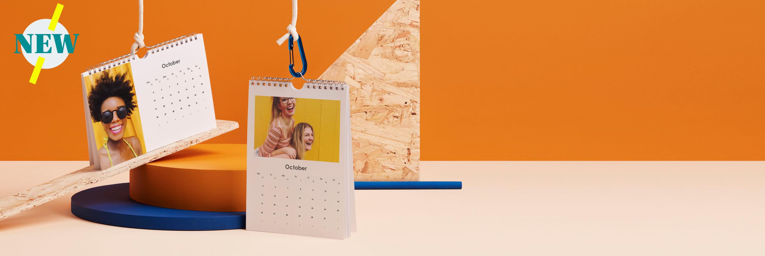 A5 Small Photo Calendar - Portrait