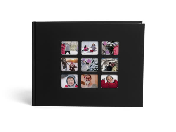 Christmas gift ideas for friends - collage photo book - motley bunch
