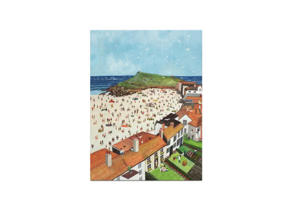 View from the Tate Gallery St. Ives by Judy Joel