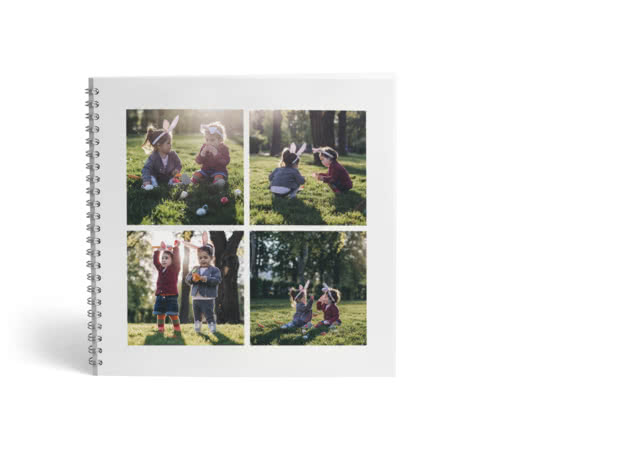 Softcover Square Spiral Photo Book