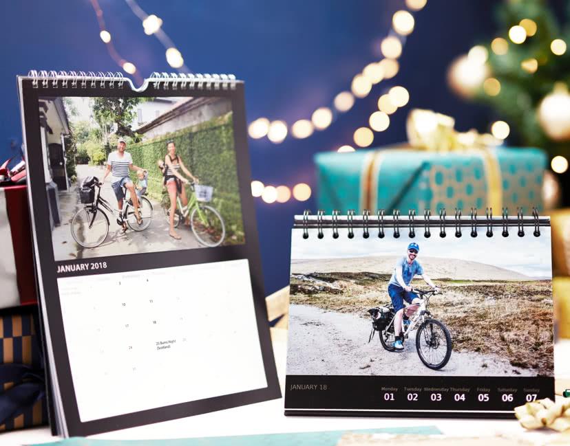 Wall and desk calendar