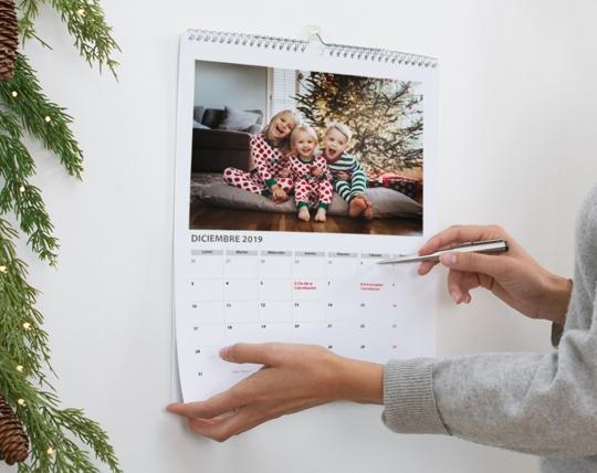 Regalos para Navidad personalizados - Calendario 2020