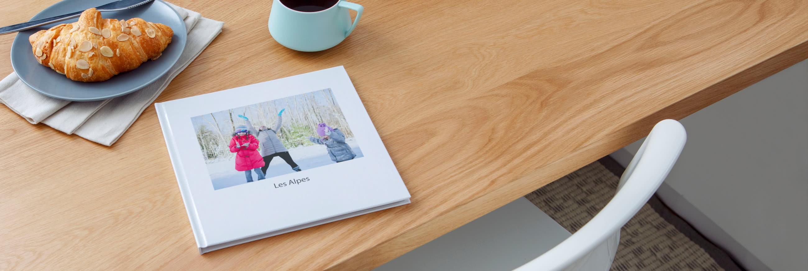 Livres Photo Carrés Premium