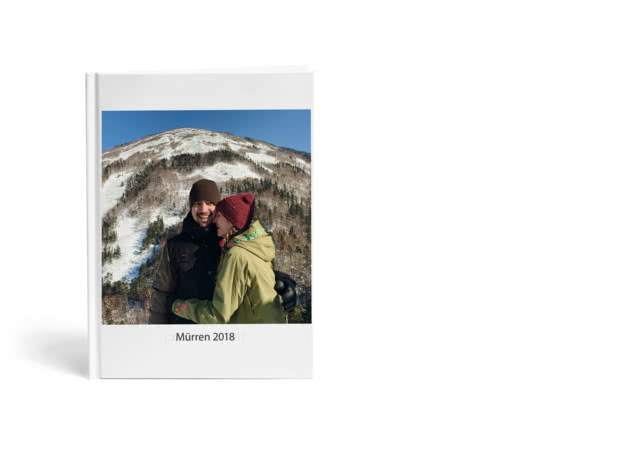A4 Standard Hardcover Portrait Photo Book