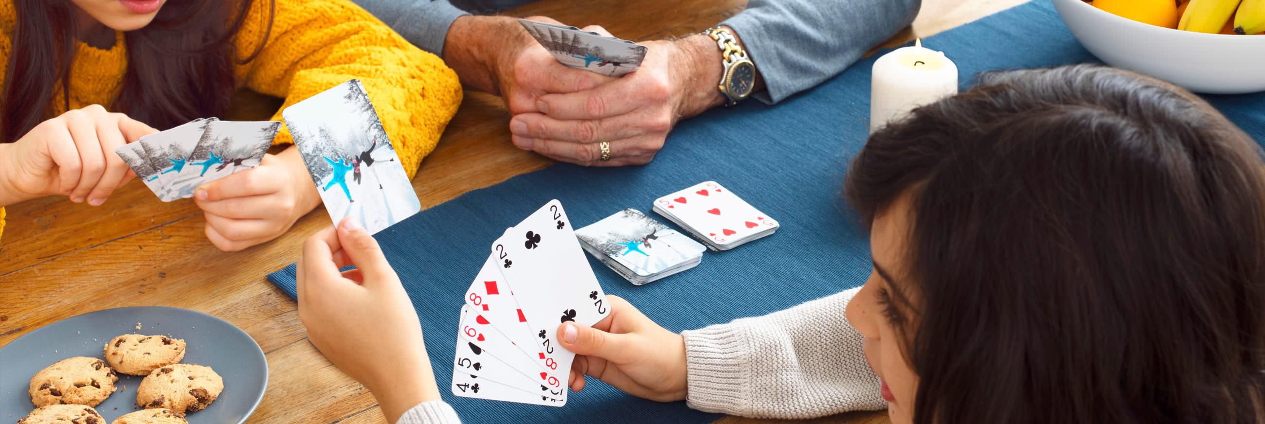 Spillekort med foto
