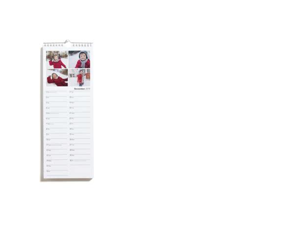 Slim Calendar