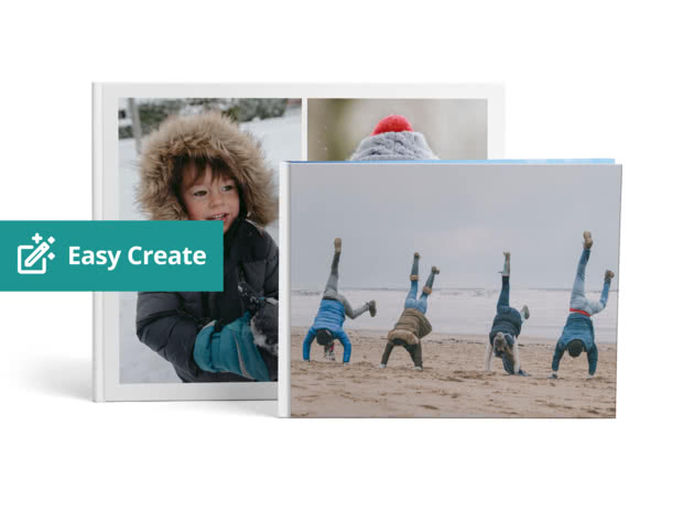 A4 & A3 Personalised Photo Books