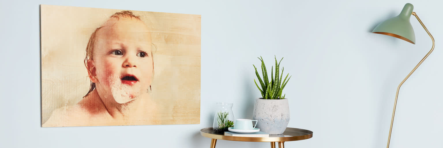Wooden Wall Print