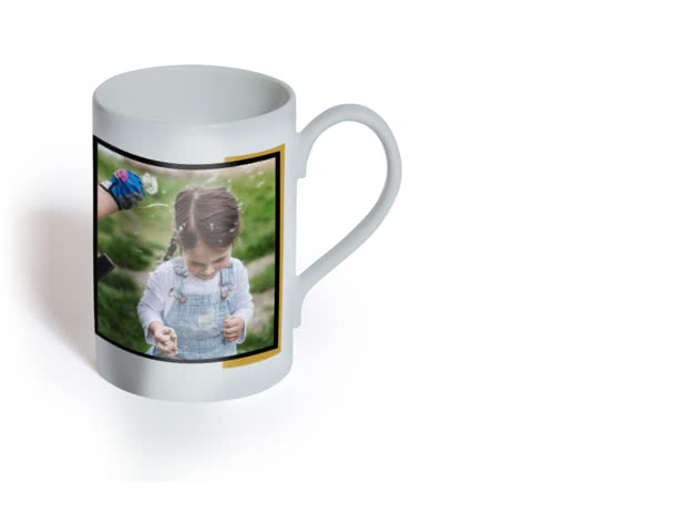 Mug photo en porcelaine